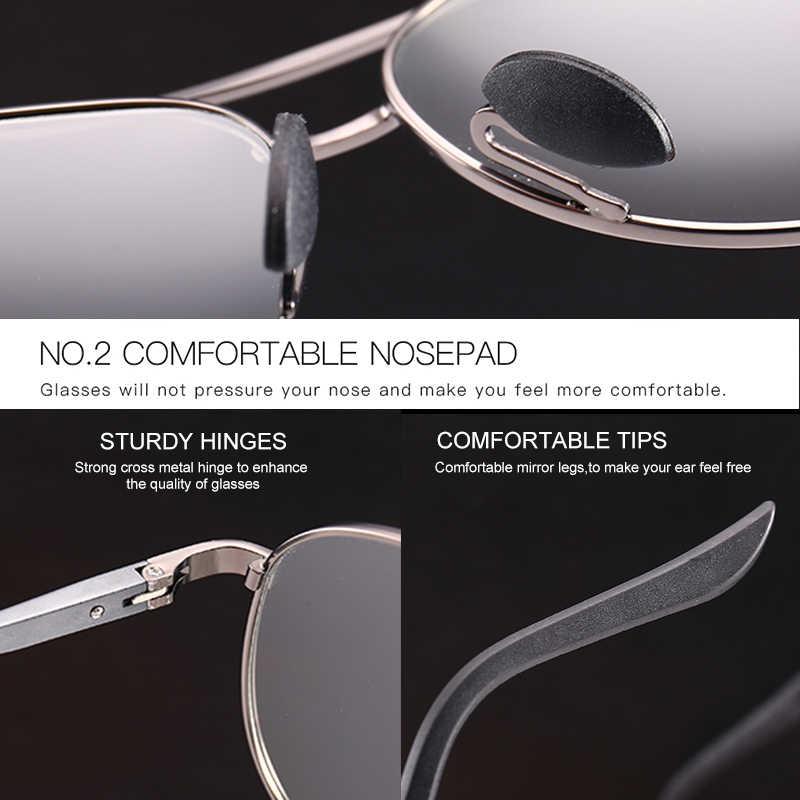 Mx photochromic óculos de sol homem polarizado camaleão óculos de sol masculino mudança de cor óculos de sol dia visão noturna condução eyewear