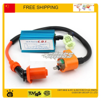 250cc GY6 Scooter CDI Igintion Coil Performance 6 Pin Racing CDI Box Ignition Coil For GY6