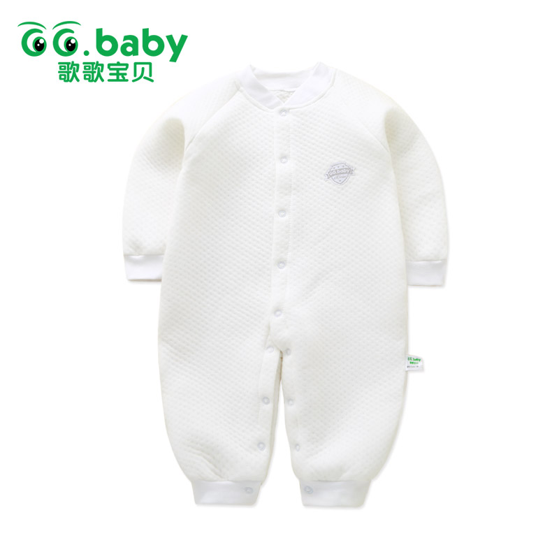 Newborn Baby winter Rompers 2017 Baby Girl Long Sleeve Clothing Pajamas Baby Infant Jumpsuit Toddler Baby Clothes Wram Clothing cotton baby rompers infant toddler jumpsuit lace collar short sleeve baby girl clothing newborn bebe overall clothes