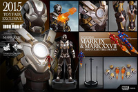 HT Hottoys Hot Toys MMS303 Ironman MK24 TANK 2015 Limited Version Collection Action Figure for Fans Collection Gift