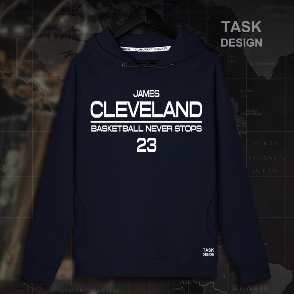 LeBron James Men pullovers hoodies sweatshirt LBJ King Clothing streetwear casual tracks ...