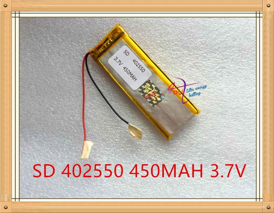 Liter Energie Batterie 3,7 V Lithium-polymer Akku 402550 450 Mah Gps Navigator Mp3 Mp4 Recorder Knitterfestigkeit Computer & Büro Tablet-akkus & Backup-stromversorgung