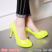 Platform Pumps High Heels Ladies High Heel Shoes Women Stiletto Woman Wedding Shoes Kitten Heels Plus Size 34-40.41.42.43