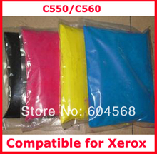High quality color toner powder compatible for Xerox C550/C560/550/560 Free Shipping