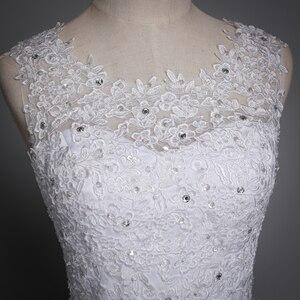 Image 5 - Fansmile 2020 Robe De Mariage Princess White Ball Gown Wedding Dresses Vestido De Noiva Plus Size Custom Wedding Gowns FSM 023F