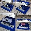 Precio de la impresora manual de pantalla de la impresora manual de pantalla curva redonda manual máquina screenprinter