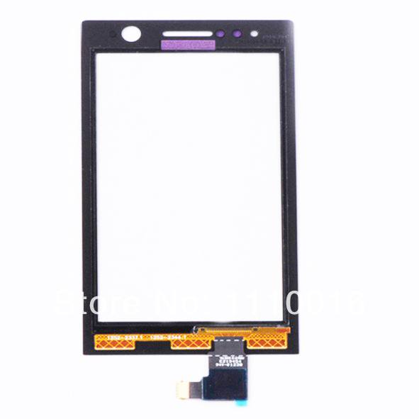 High quality New Black Wholesale Touch Screen Digitizer For <font><b>Sony</b></font> Ericsson Xperia ST25i <font><b>ST25</b></font> Free Shipping image