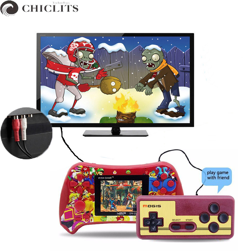 Classic Handheld Game Console Players for NES Super Mary 2.5 2 Player Game for TV Output Kids Double Battle With Gamepad Gifts