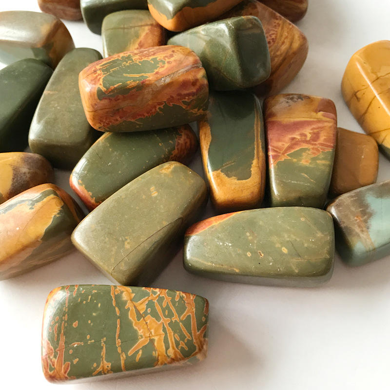 100g Natural Sea Stone Ocean Jasper Agate Stones Decoration Ocean