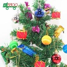 sl unid tambor de bolas de navidad para rboles de navidad para rboles de navidad ao nue