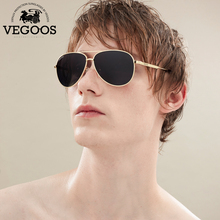 VEGOOS New Fashion Pilot Polarized Men Sunglasses Man Pilots Aviation Brand Designer Fashion Sun Glasses Aviation #3120