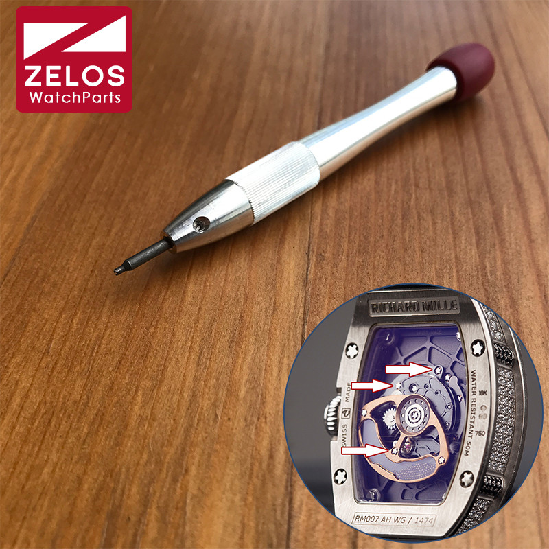 Chave de Fenda Relógio de Senhora Pontas Ajuste Richard Mille Movimento Tala Parafuso 5 Rm007
