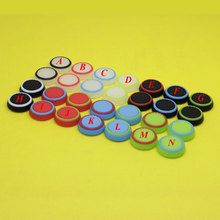 1Pair Silicone Analog Thumb Stick Grips Cover for Playstation 4 PS4 Pro font b Slim b