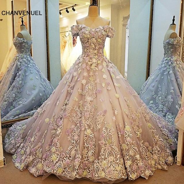 LS00060 abendkleider lange blumen lace up zurück vestido longo de ...