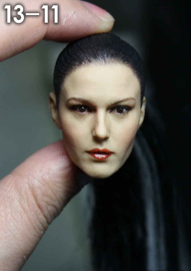1/6 scale female head shape for 12 action figure doll accessories doll head carved not include the body,clothes and other 13-11 1 6 figure doll head shape for 12 action figure doll accessories game of death bruce lee head carved not include body clothes