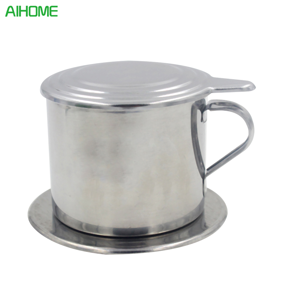 100ml Rotary Filter Pots Stainless Steel Push Type Coffee Cups Travel Beer Mug Coffee Cup Keep Drink Hot and Cold Mug Cooler Cup cup