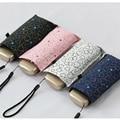 Мини карманный зонтик от дождя для женщин корпорация складной зонтик Защита от Солнца Анти-УФ Зонт parapluie складной женский зонт