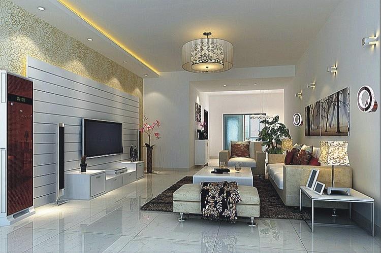 Moderna crystal led lampade da parete soggiorno breve roomled