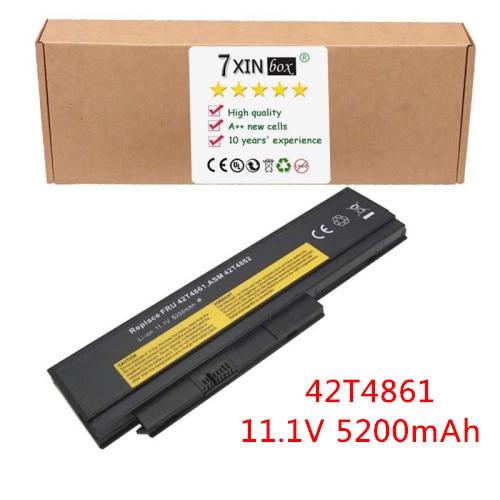 5200mAh NEW Battery For LENOVO ThinkPad X220 X220i X220s 0A36307 0A36306 FRU 42T4861 42T4862 42T4940 42T4868 42Y4864 42T4940 original 9cell for lenovo ibm thinkpad x220 x220i x220s 0a36282 0a36283 42t4862 42y4874 42y4868 42t4941 42t4940 42t4942 42y4864