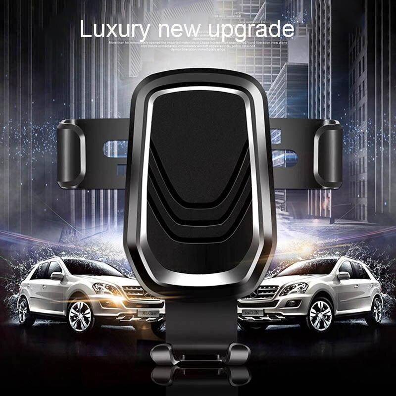 Clip Schwerkraft Auto Telefon Halter Stehen halterung handy smartPhone Air Vent Steckdose Montieren Mobile Voiture Unterstützung De Telefon