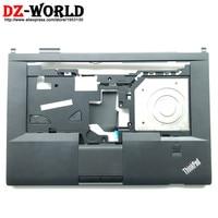 Novo/Orig Teclado L430 Moldura Capa para ThinkPad Palmrest w/Touchpad Clicker Fingerprint & Cabo 04Y2080 04X4616 04W3633 04X4689