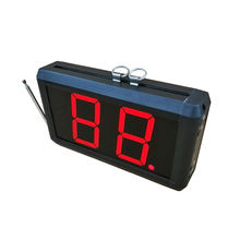 Take a number system 2-digit display with Next Control Button Wireless Number Waiting System