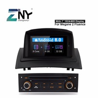Android 8.0 Car Radio DVD Player For Renault Megane 2 2005 2009 7 IPS Auto Stereo Multimedia GPS Navigation 4+32 GB Gift Camera