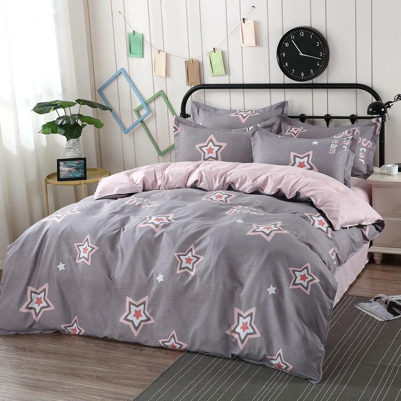 Simple Striped Lattice Printing Comforter Bedding Sets Thickening Bed linen Duvet Cover Pillowcase Soft Home Classic Bedding SetSimple Striped Lattice Printing Comforter Bedding Sets Thickening Bed linen Duvet Cover Pillowcase Soft Home Classic Bedding Set