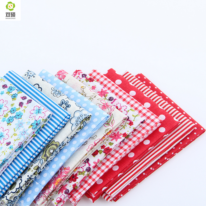 10 10 CM Random Color Thin Charm Packs Patchwork Cotton Fabric No Repeat Design Tissue Sewing Fabric 30 pcs lot in Fabric from Home Garden