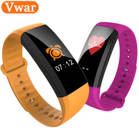 M2 Plus Smart Bracelet Bluetooth Sport Watch Color Screen Band Blood Pressure Heart Rate Monitoring Smartband
