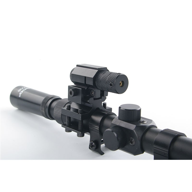 Softair-Gewehr 3-7x20 Zielfernrohre + Jagd-Rotlaser-Zielfernrohr + - Jagd - Foto 2