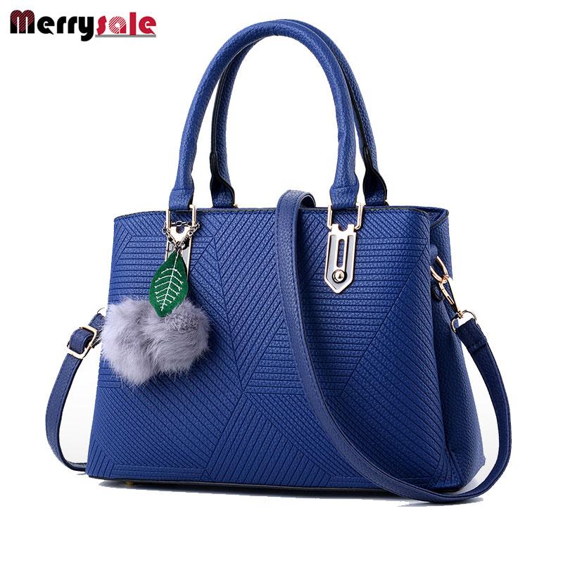 Women's bag leather handbag fashionable female bag Messenger bag 2017 new fashio