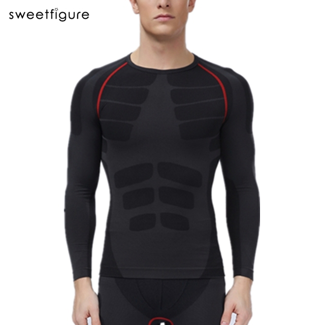 Slimming Underwear For Men Compression Men Shaper Long Sleeve Body Shaper Tops Waist Cincher Body Shaper Underwear Man