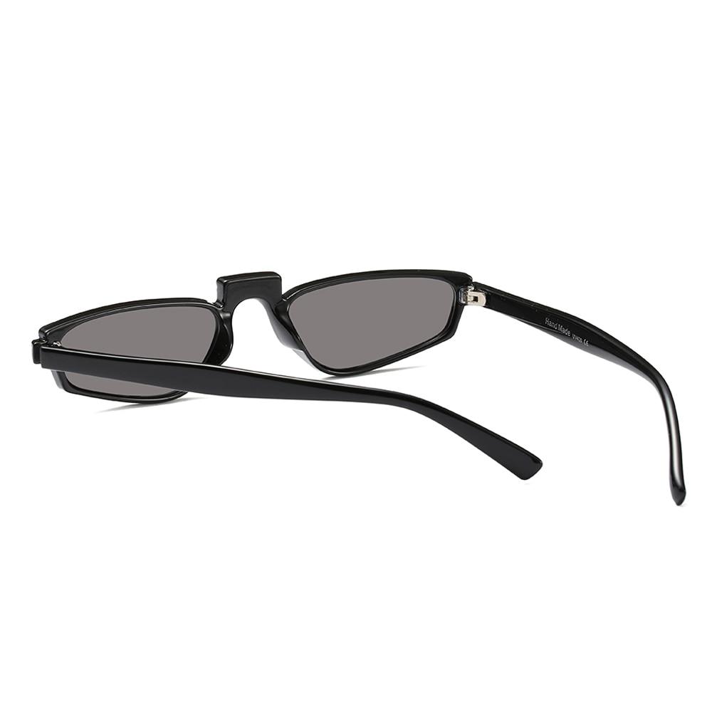 Peekaboo branco vermelho pequeno óculos de sol das mulheres do vintage preto  2018 de alta moda óculos de sol para mulheres uv400 olho de gato barato em  ... ab3ba7cdf3