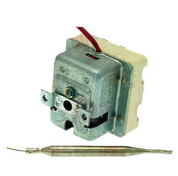 EGO 5532562822  THREE PHASE THERMOSTAT safety thermostat switch off temp. 360C 3 pole 3NC 2x20/1x0.5A probe  6mm probe L 79mm