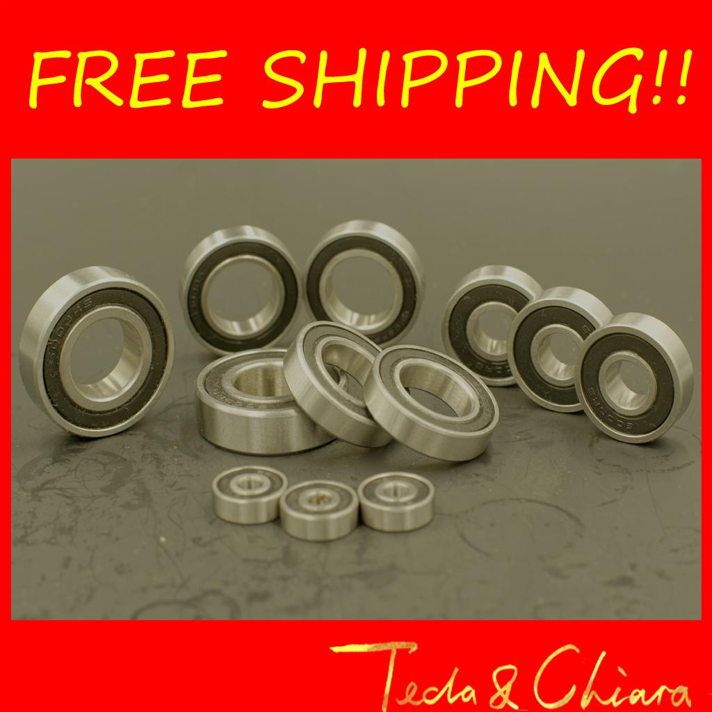 10Pcs 6001-2RS 6001RS 6001rs 6001 rs Deep Groove Ball Bearings 12 x 28 x 8mm Free shipping High Quality чайник bosch twk 6001