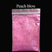 Collorful glitter peach blow applied in printing ink paint cosmetics plastic leather handicrafts ornaments toys coating