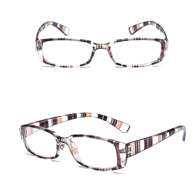 a32057cbed Men Women Flexible Reading Glasses Reader Strength Presbyopic Glasses  stripe frame +1.0~+4.0 W715-in Reading Glasses from Apparel Accessories on  ...