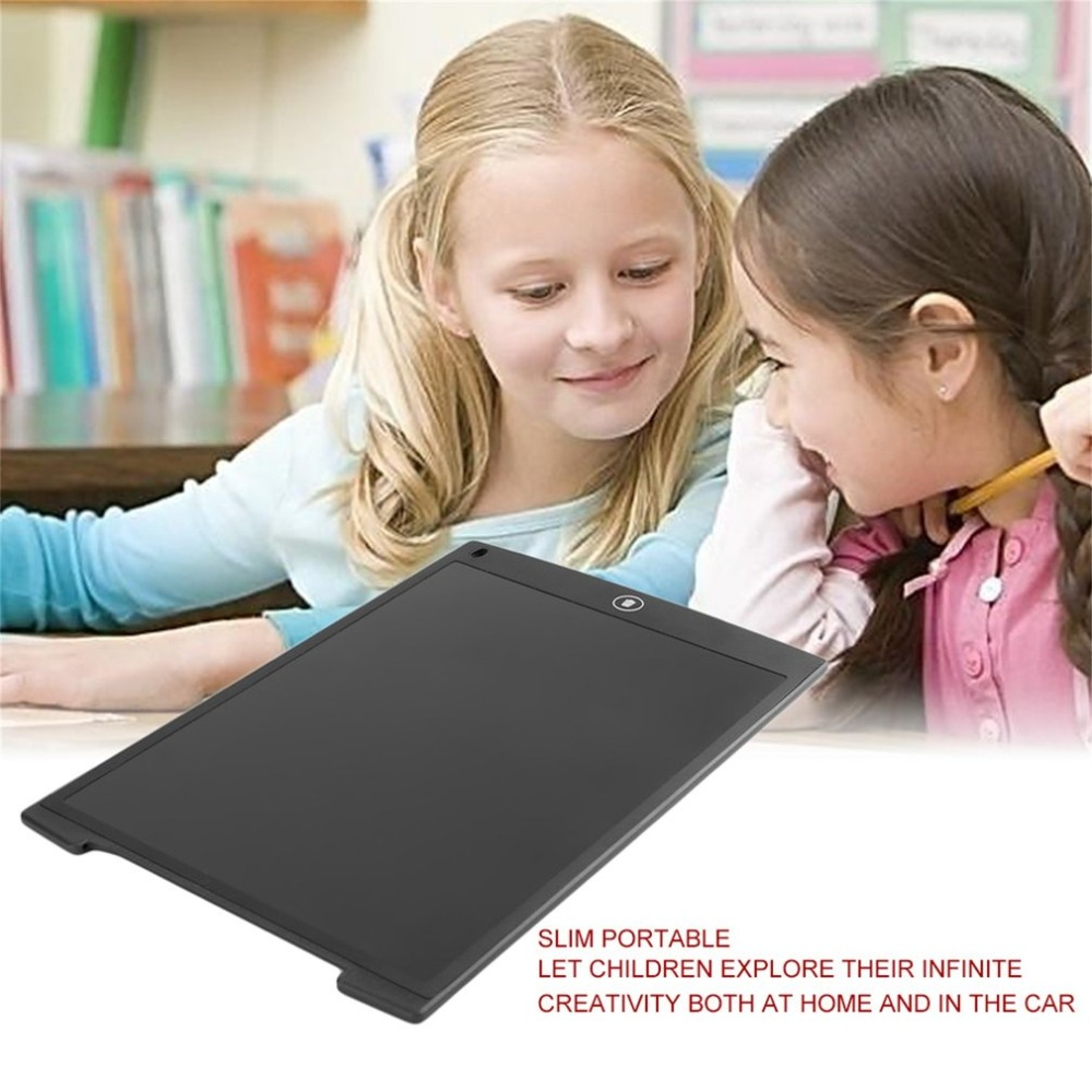 все цены на 12 Inch LCD Writing Tablet Digital Mini Drawing Tablet Handwriting Pads Portable Electronic Ultra-thin Tablet Board
