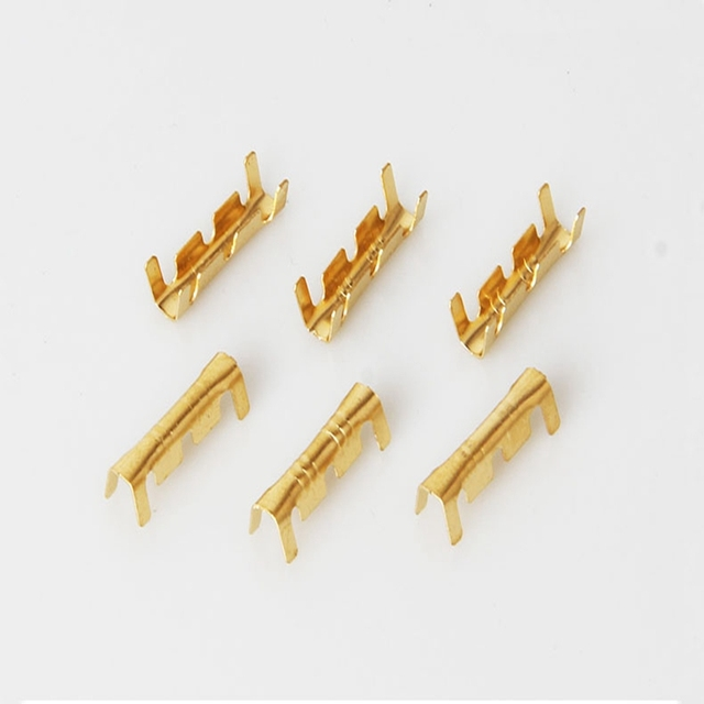 100pcs Docking connector line pressing button quick connect terminal wiring 0.5 to1.5 square