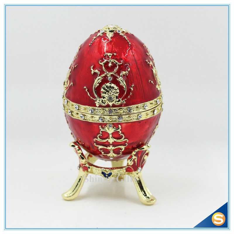 The petroika larissa faberge style enameled egg easter and easter the petroika larissa faberge style enameled egg easter and easter gift box for women in bottles jars boxes from home garden on aliexpress alibaba negle Images