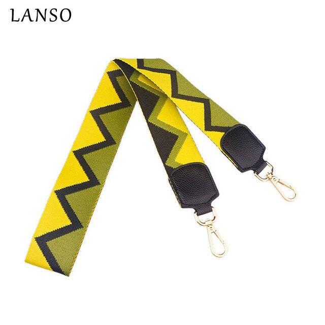 Lanso bolso accesorio asas de cuero para mano Bolsas Correa usted ...