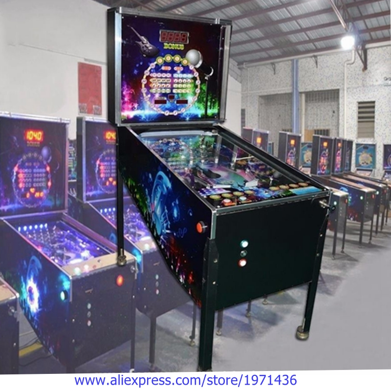 High Quality Amusement Equipment Arcade Token Coin Operated Pinball Game Machine good quality coin operated tabletop gumball vending machine desktop capsule vending cabinet toy penny in the slot coin vendor