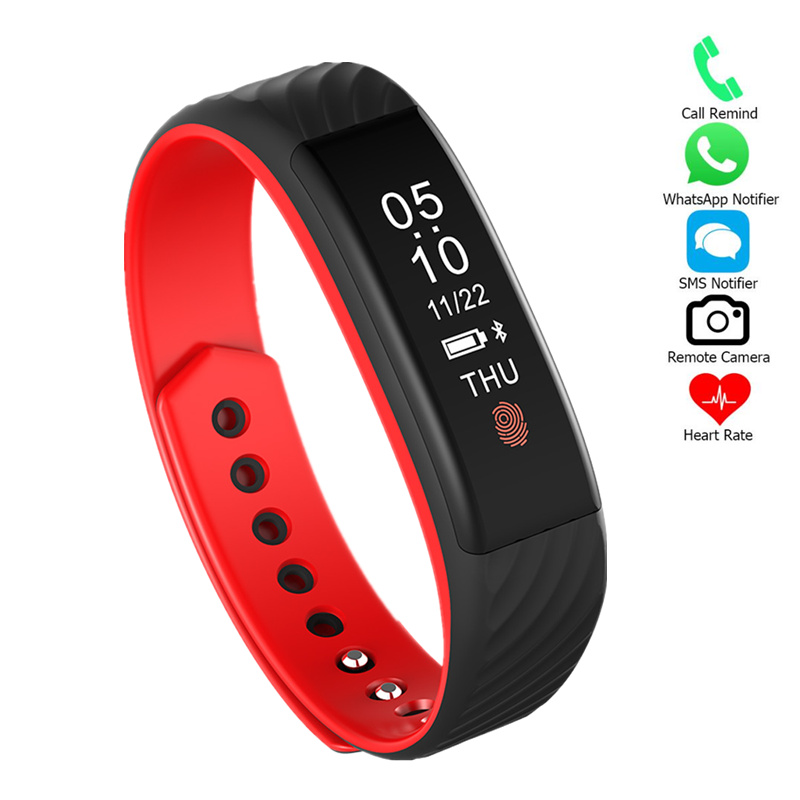 W810 Heart rate Sport Bracelet Smart Band Multi-function SmartBand intelligent For iOS Android Fitness Tracker Smart Bracelet