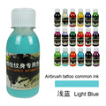 Disposable Inkjet Tattoo Pigments Colorful Airbrush Tattoo Ink For Body Paint Art Professional Temporary Tattoo Ink 100ML