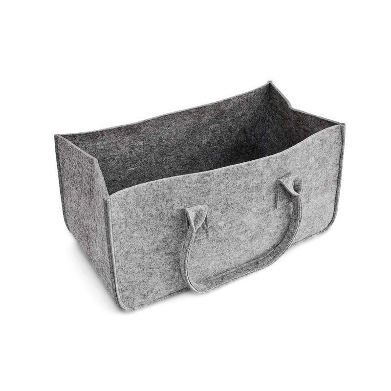 Felt Purse, Felt Storage Bag Large Capacity Casual Shopping Bag  Home Storage Bag  Organizer Makeup Inner Purse Portable Cosmeti