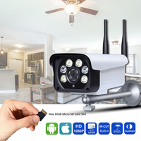 1080P Wifi Camera Outdoor IP Camera 5X Zoom 2.7mm 13.5mm Motorized Lens With SD Card Slot Two Way Audio Color Night Vision