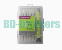 6in1 Kit T2 T4 T5 T6, 0.8 1.2Pentalobe 1.5 2.0 Phillips/Slotted Y Screwdriver Tools for Tablet Laptop Cell Phone Repair 120sets