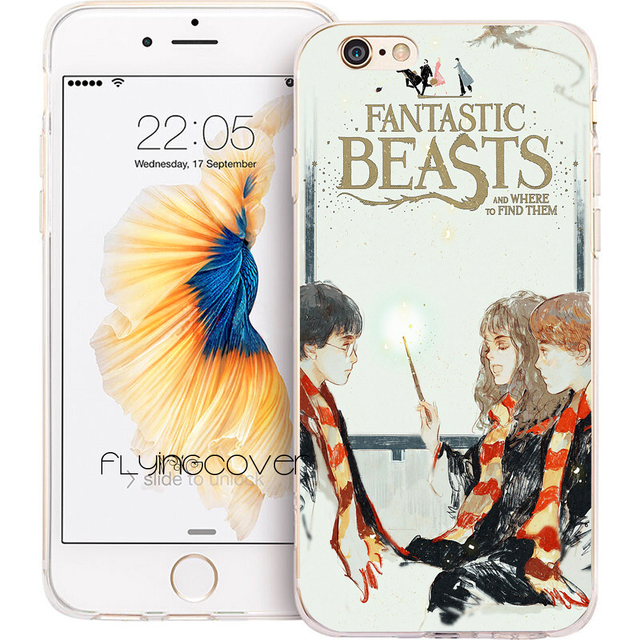 coque iphone 8 silicone harry potter