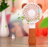 Portable Handheld Fan Personal Electric Cooling Fan USB Battery Powered Desk Mini Fan Strong Airflow For